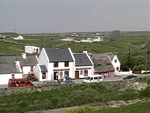 buildings in doolin, county clare - doolin stock videos & royalty-free footage