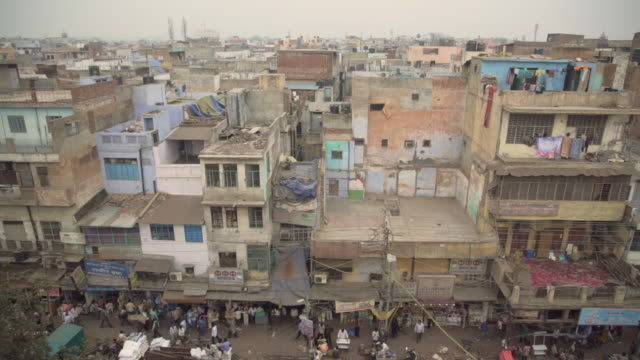 Buildings in New Delhi.