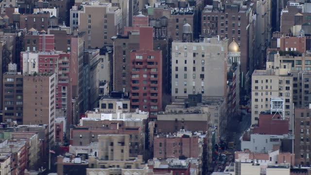 Buildings in the Chelsea neighborhood of Manhattan, New York City.