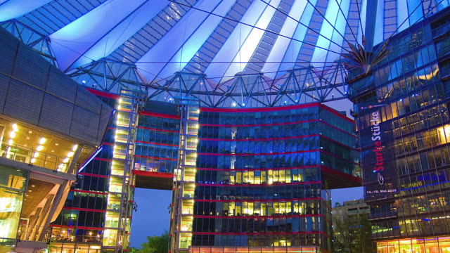 WS PAN T/L Buildings inside the Sony Center / Berlin, Germany