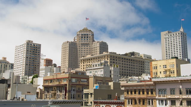 t/l ws buildings of knob hill in san francisco, california, usa - knob stock videos and b-roll footage