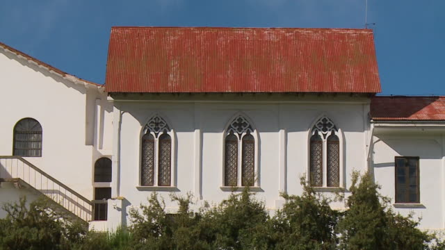 buildings of santo domingo convent, cusco, peru - convent stock videos & royalty-free footage