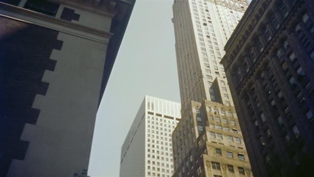 1958 WS TU PAN Buildings on 42nd street / Manhattan, New York