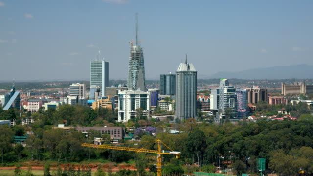 buildings under construction & west nairobi nairobi  kenya  africa - nairobi stock videos and b-roll footage