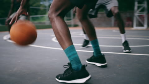 built their basketball career from the ground up - bouncing stock videos & royalty-free footage