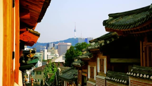 北村韓屋村では、Seoul ,South Korea