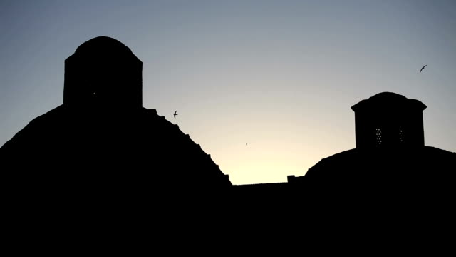 bukhara at dawn. - bukhara stock videos and b-roll footage
