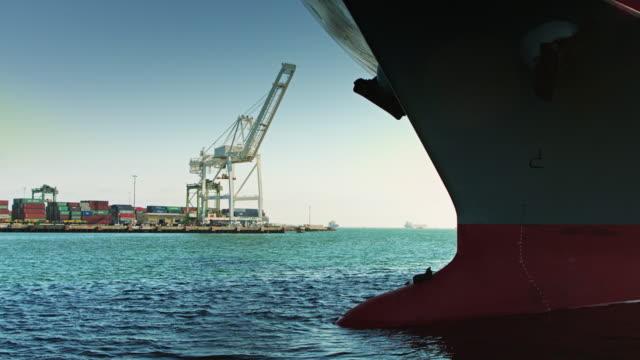 貨物船の船首 - 船体点の映像素材/bロール