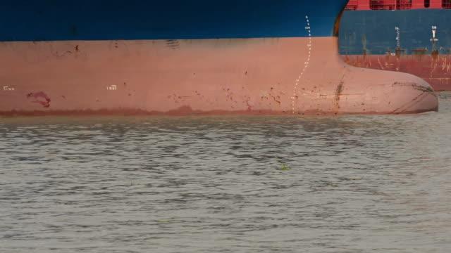 stockvideo's en b-roll-footage met bulbsteven - passagiersboot