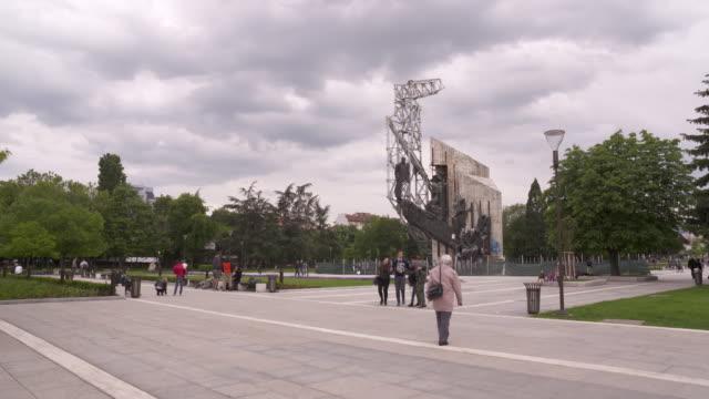Bulgarian Square, Sofia, Bulgaria