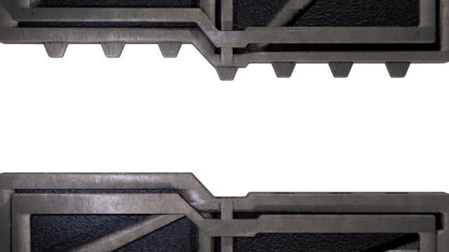 bulkhead closing - gate stock videos & royalty-free footage