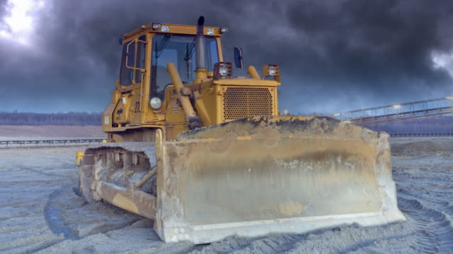 bulldozer - earth mover stock videos & royalty-free footage