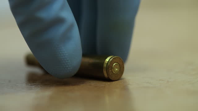 bullet casing - cartridge stock videos & royalty-free footage