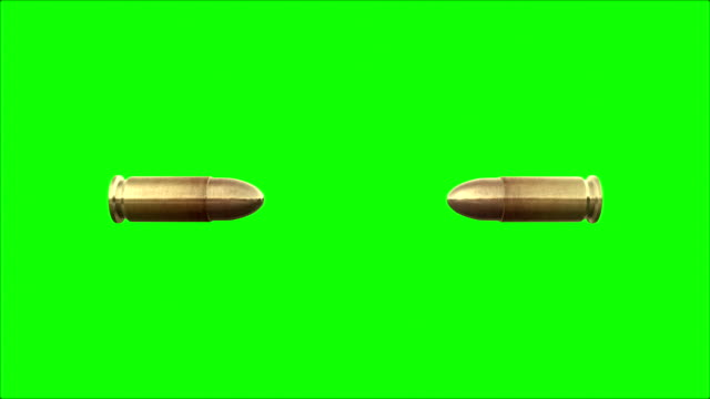 ブレット緑色の画面 - 銃点の映像素材/bロール