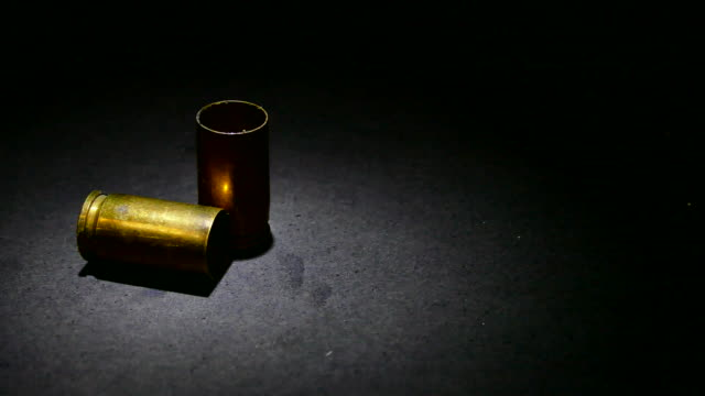 Bullet shells with smoke