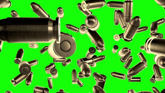 箇条書きジュラルミン緑色の画面スローモーション - aggression点の映像素材/bロール