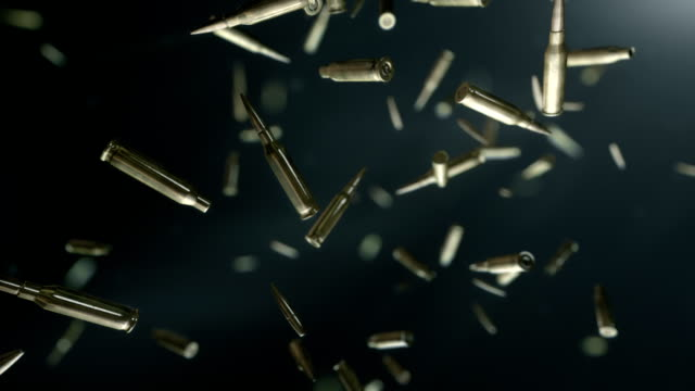 hd: bullets flight - metal stock videos & royalty-free footage