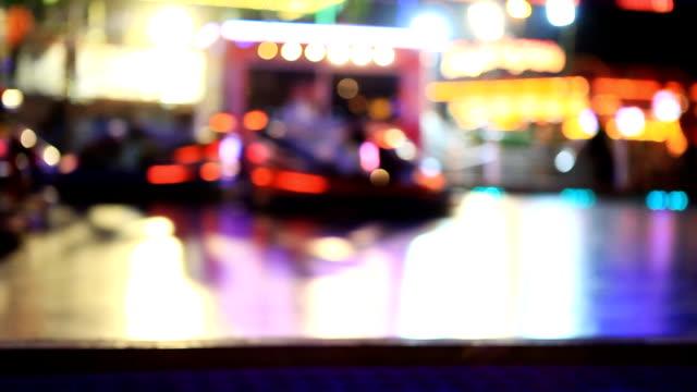bumper car  abstract - bumper car stock videos & royalty-free footage