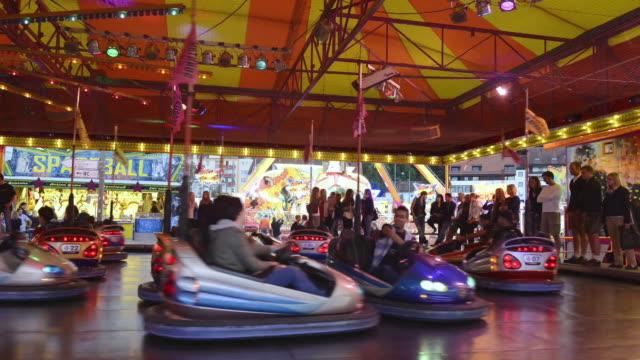 MS T/L Bumper Cars at carnival / Landshut, Bavaria, Germany