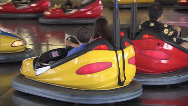 Bumper Cars at Knott's Berry Farm theme park