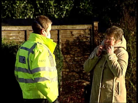 Buncefield fuel depot explosion ITN Daniel Simpson interview SOT smoke and flames were bellowing out of the fuel tanks GV semi detached house huge...