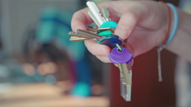 bunch of keys - house key stock videos & royalty-free footage