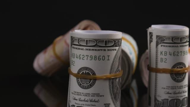 vídeos y material grabado en eventos de stock de dólar incluido y lira turca - millonario