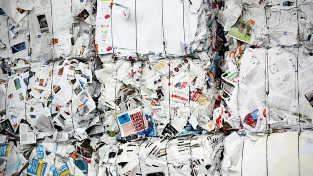 PAN Bundles of Paper Garbage