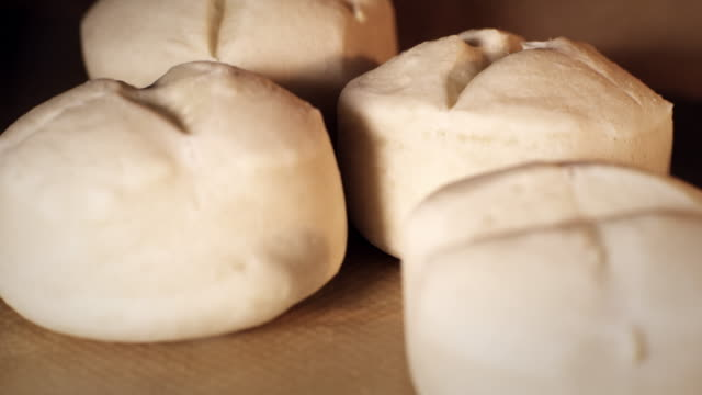 buns timelapse - baking stock videos & royalty-free footage