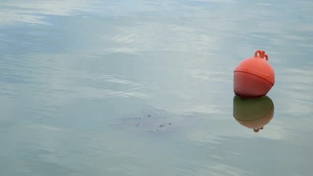 Buoy Floating On Lake