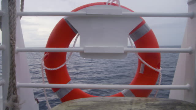 a buoy on a boat shot - buoy stock videos & royalty-free footage