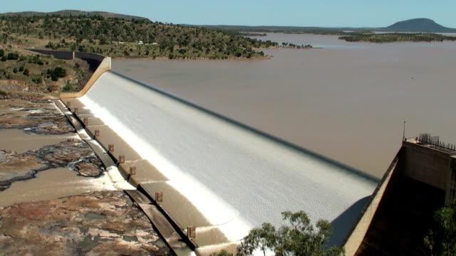 burdekin dam - flood stock videos & royalty-free footage