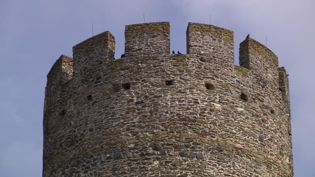 stockvideo's en b-roll-footage met burg hartenstein - tower and surroundings of burg hartenstein castle in lower austria - lower austria