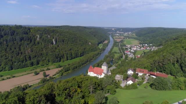 Burg Prunn (Prunn Castle) In Altmuehl Valley In Bavaria