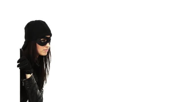 burglar - schwarzcharakter - organized crime stock videos and b-roll footage