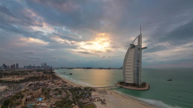 Burj Al Arab Clouds, Dubai