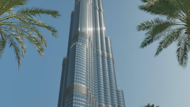 burj khalifa, dubai - burj khalifa stock videos & royalty-free footage