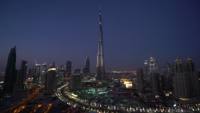 burj khalifa - burj khalifa stock videos & royalty-free footage