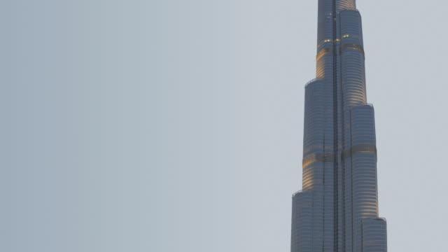 ws td zo burj khalifa with fountain / dubai, united arab emirates - 2010 個影片檔及 b 捲影像