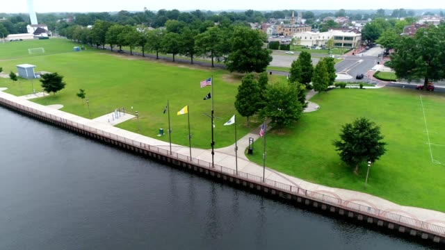 Burlington City Promenade in Burlington New Jersey