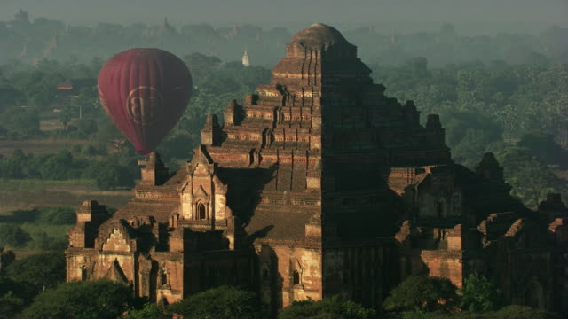 Burma-Myanamar : Brown temple in the forest
