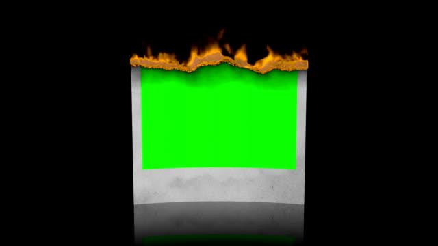 Burn photo