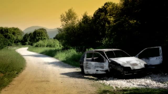 HD: Burned Car