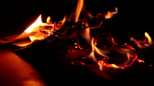 burning book - book stock videos & royalty-free footage