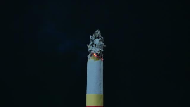burning シガレット絶縁にブラック - 煙草製品点の映像素材/bロール