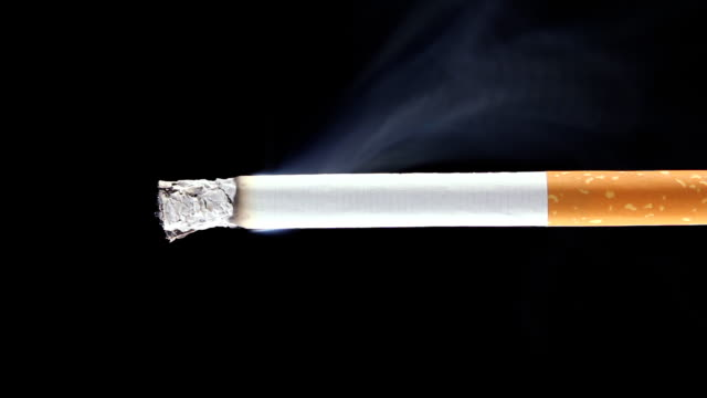 burning cigarette - (time-lapse) - cigarette stock videos & royalty-free footage