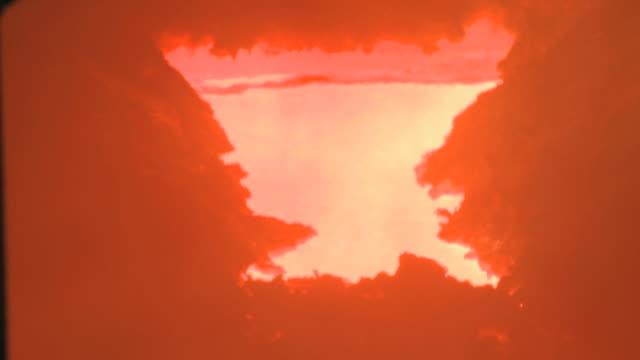 cu burning fire in steel factory beside blast furnace at thyssen steel ag / duisberg, north rhine-westphalia, germany - blast furnace stock videos & royalty-free footage