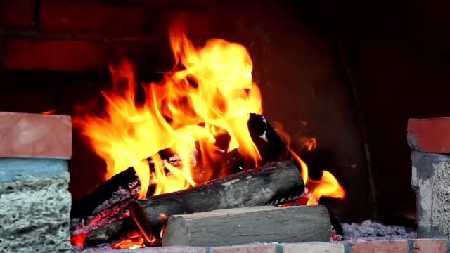 burning fire - hearth oven stock videos & royalty-free footage