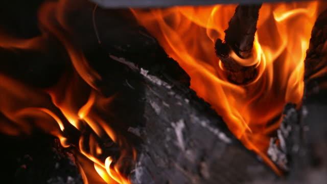 burning firewoods - burning coal stock videos & royalty-free footage