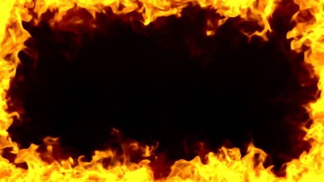 burning frame - fire natural phenomenon video stock e b–roll